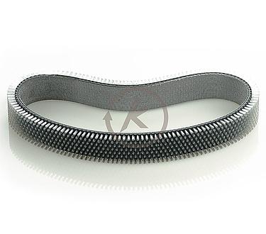 Flat-Belt Brushes