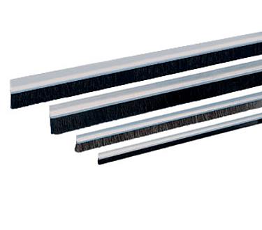 Sealing Brushes with aluminium profiles - Standard types