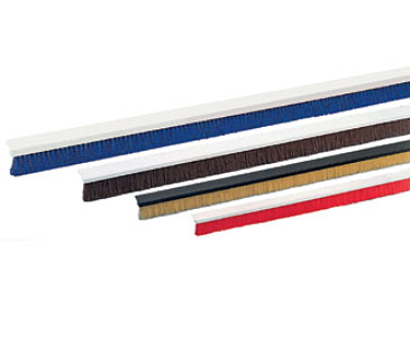 Sealing Brushes with plastic profiles - Standard types